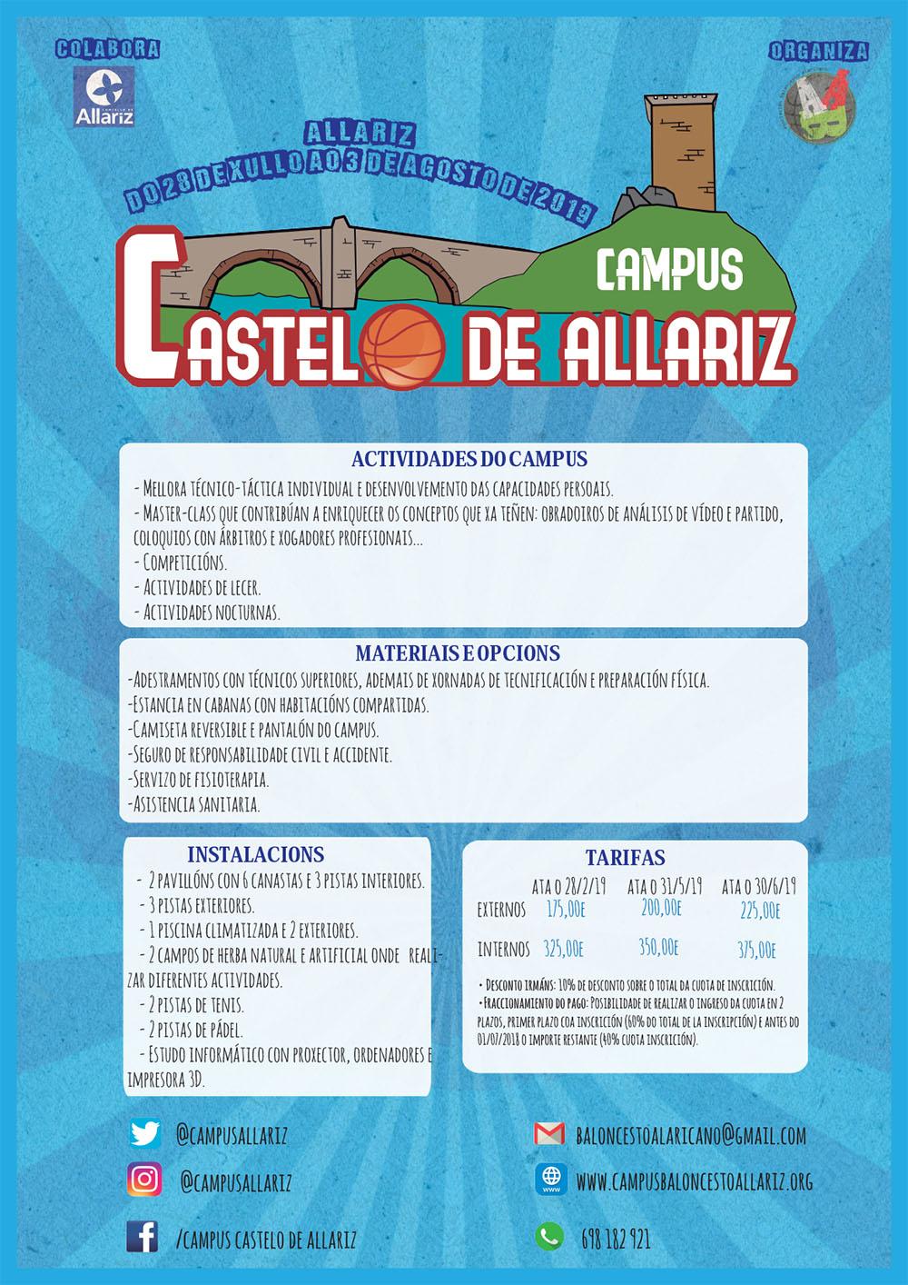 Cartel Campus Baloncerto Información detallada