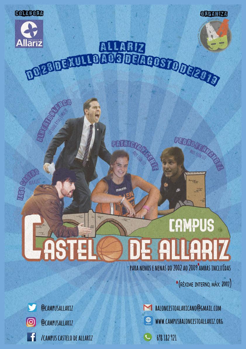 Cartel do Campus Castelo de Allariz